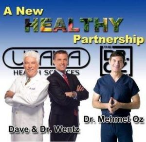 Dr Oz Partnership with Dr Wentz and Usana Health Sciences