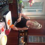 spaghetti- Leanne chopping